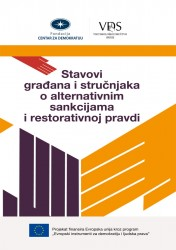 Citizens' and Experts' Attitudes towards Alternative Sanctions and Restorative Justice Measures