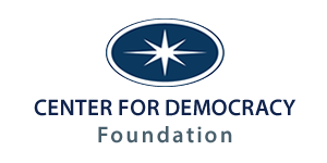 Center for Democracy Foundation logo