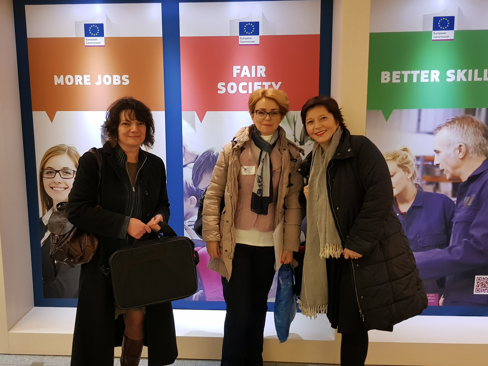 Center for Democracy Team on Study Visit to Brussels from November 26-29, 2017